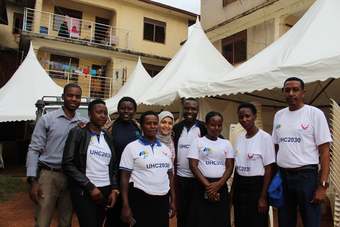 Rural Aid Foundation and partners at the international universal health coverage day 2018 focusing on refugee health needs