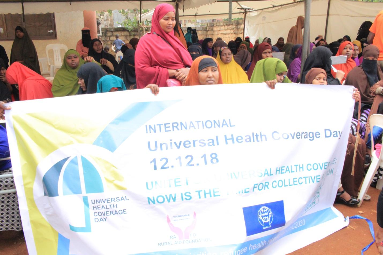 UNIVERSAL HEALTH COVERAGE DAY 2018-Prioritize refugee health needs for Universal Health coverage