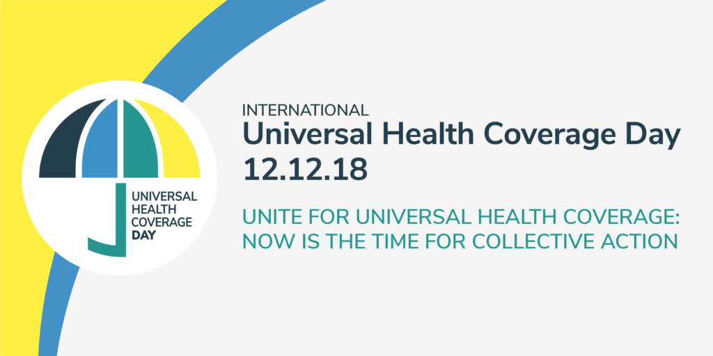 International Universal Health coverage Day 2018